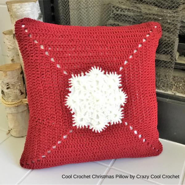 crazycoolcrochet - cool-crochet-christmas-pillow