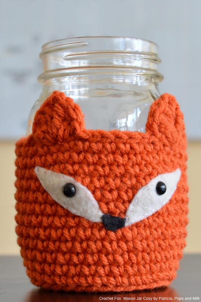 Cosy fox Jar by Patricia, Pops de Milk