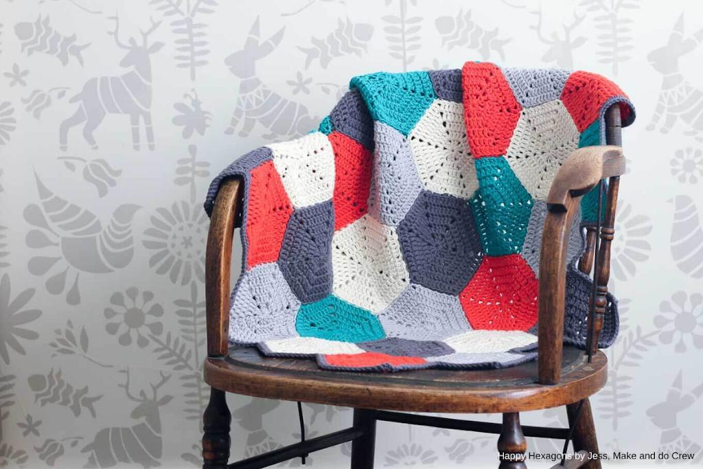 makeanddocrew - happy-hexagons