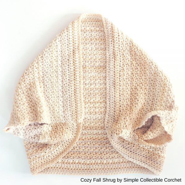 shrug da Simple Collectible Crochet