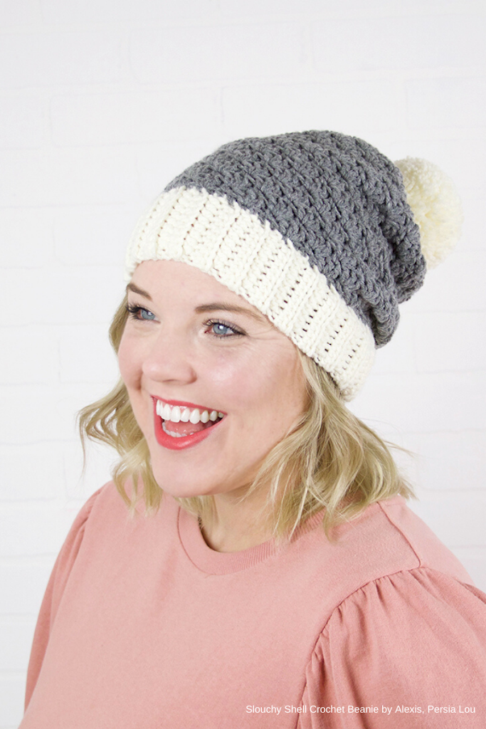 persialou - shell-crochet-hat-