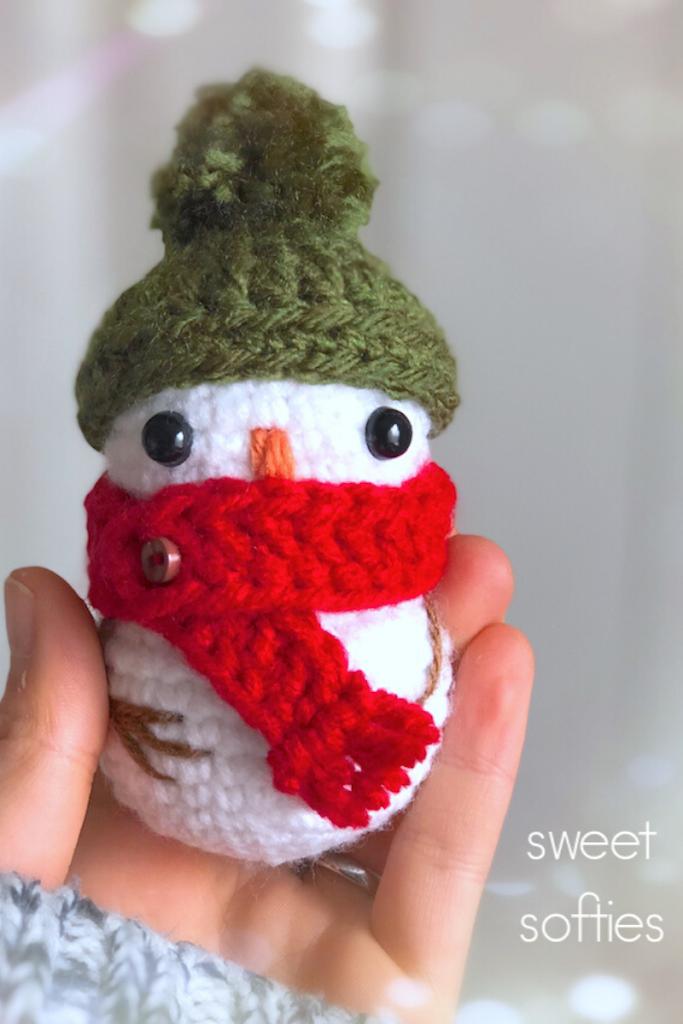 sweetsofties - tiny-baby-snowman