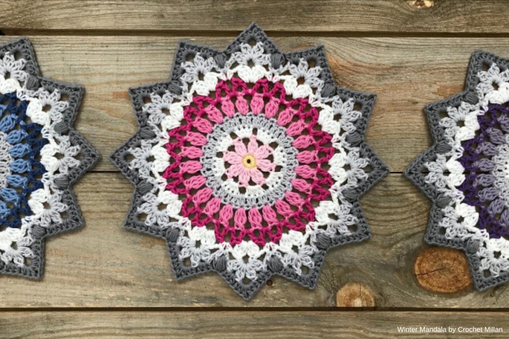 crochetmillan - winter-mandala