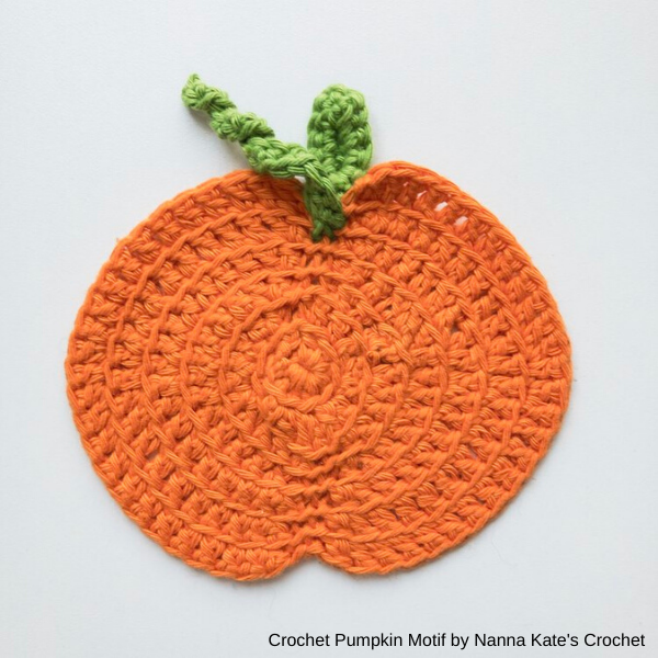 Base em forma de Abóbora by Nanna Kate's Crochet