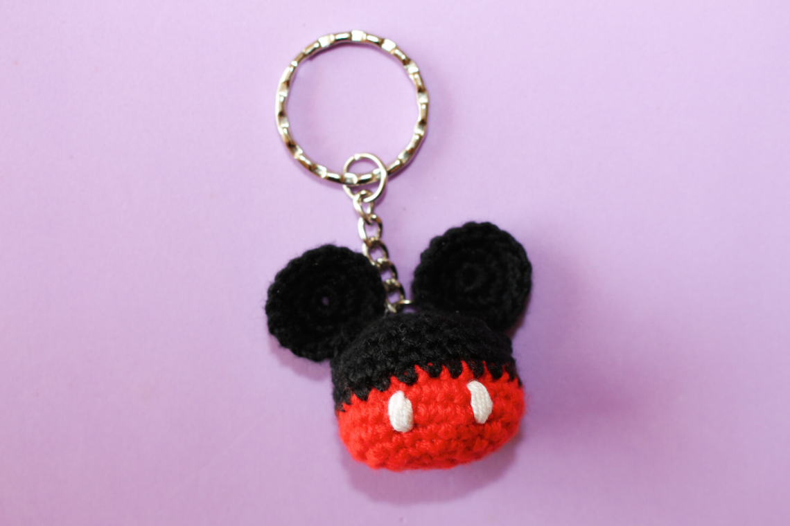 porta-chaves Mickey Mouse