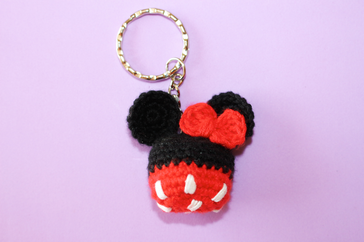 porta-chaves Minnie Mouse