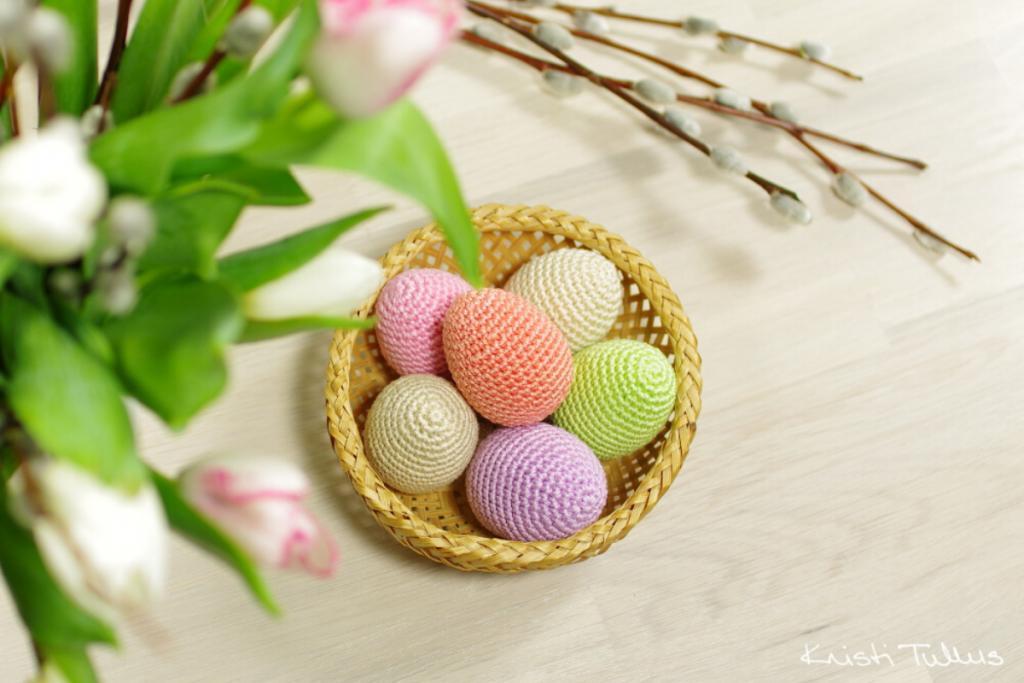 ovos em amigurumi de kristi tullus